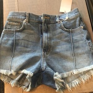 NWT Revice denim jean shorts